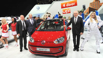 Volkswagen Eco Up concept live in Geneva 06.03.2012