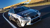Lexus GS 350 F Sport safety car 30.8.2012
