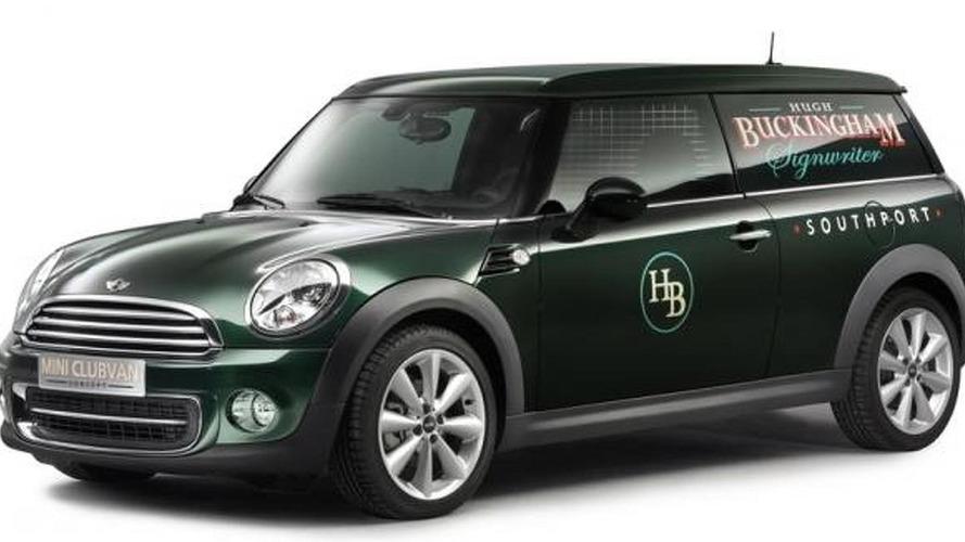 MINI Clubvan Concept revealed