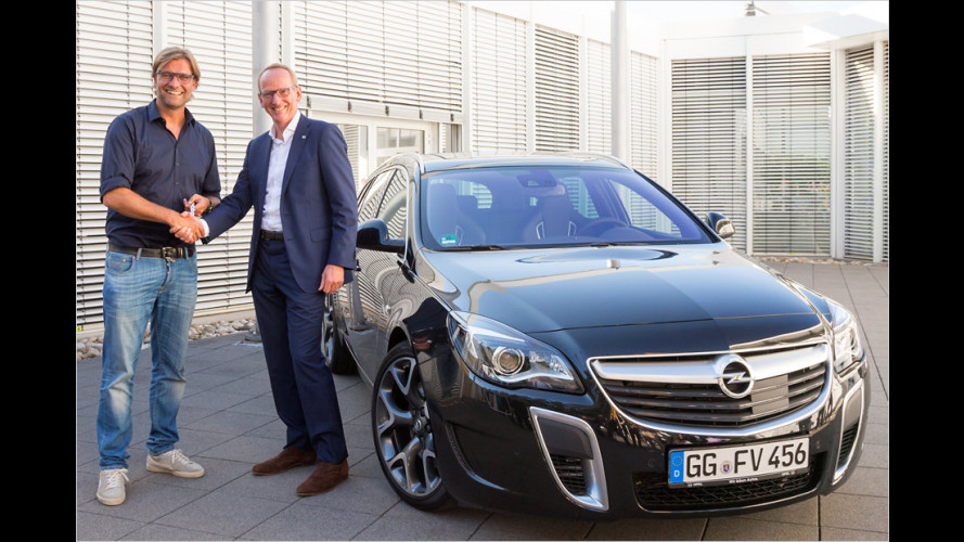 Ein neuer Opel für Jürgen Klopp