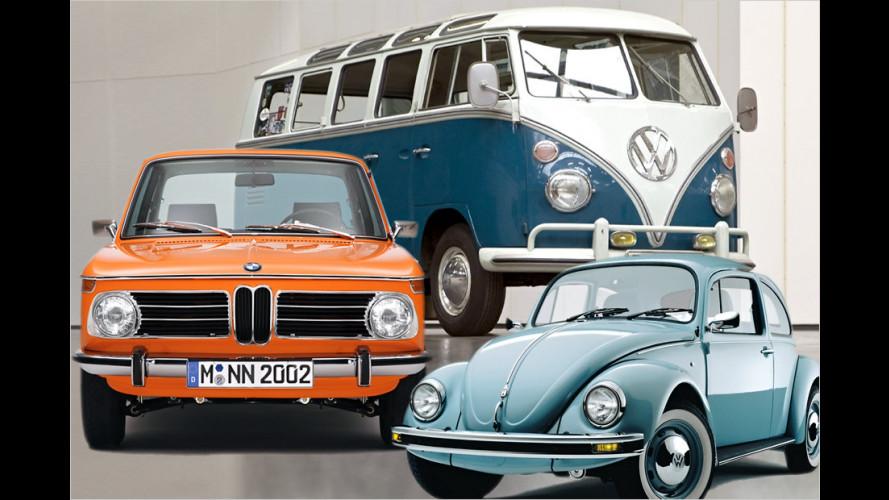 Die beliebtesten Autoklassiker