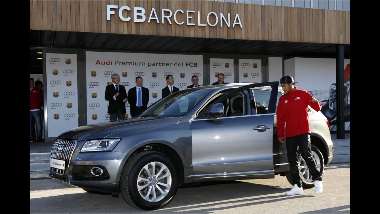 Neymar: Audi Q5