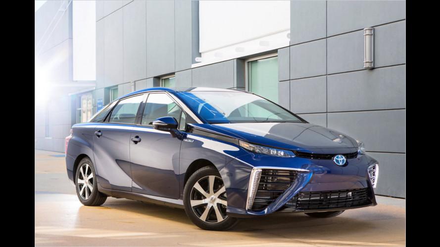 Aus Toyota FCV wird Toyota Mirai