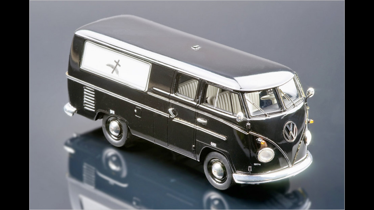 Sieger 1:43 Kleinserie: VW T1 Frickinger Bestattungswagen