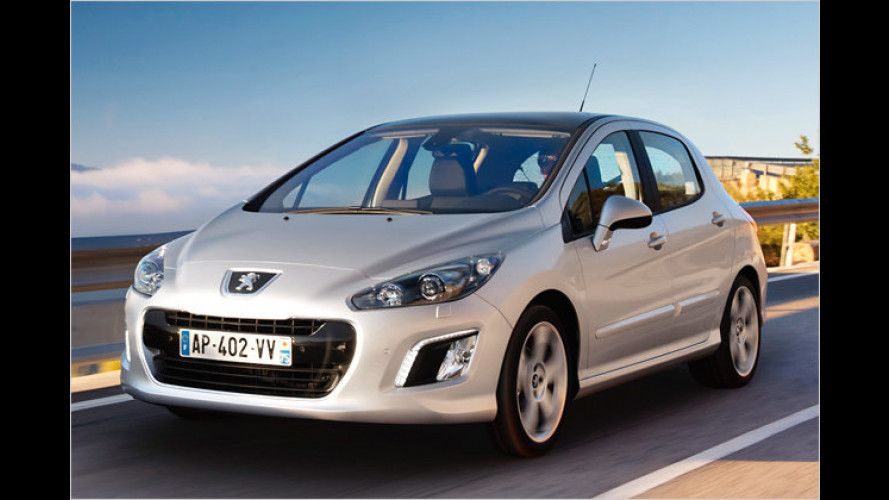 Facelift für Peugeot 308: Neue Optik und weniger Verbrauch