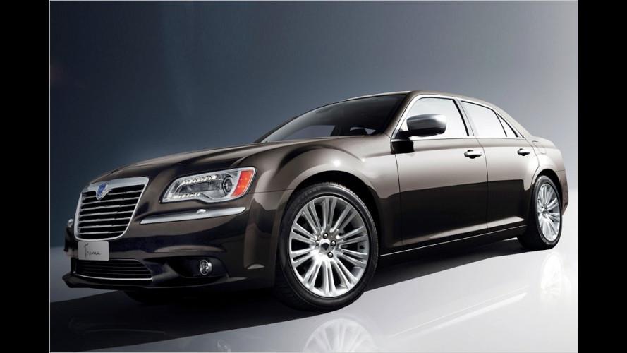 Chrysler im Kern: Lancia wieder mit großen Modellen