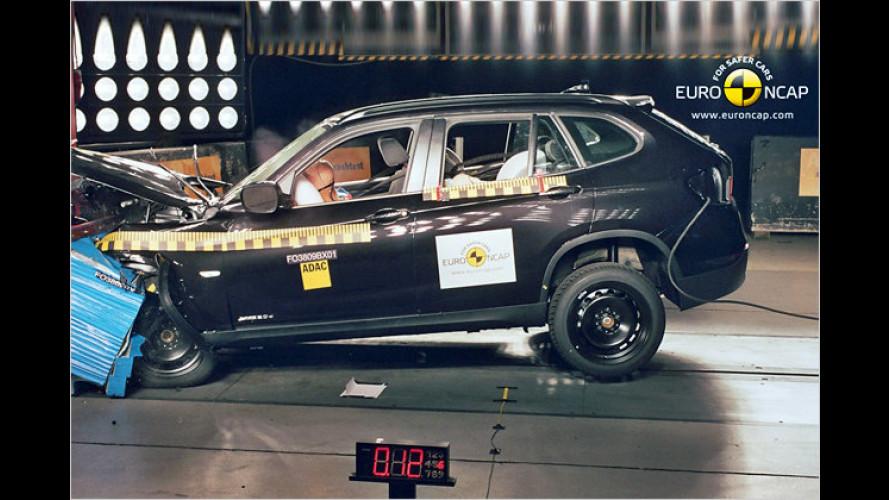 EuroNCAP-Crashs: Beim Dacia Duster sieht es düster aus