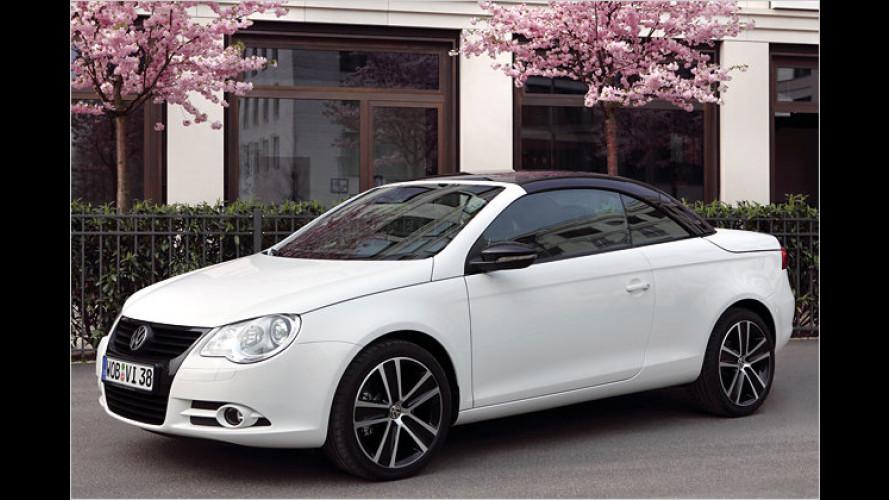 VW Eos White Night: Sondermodell mit starken Kontrasten