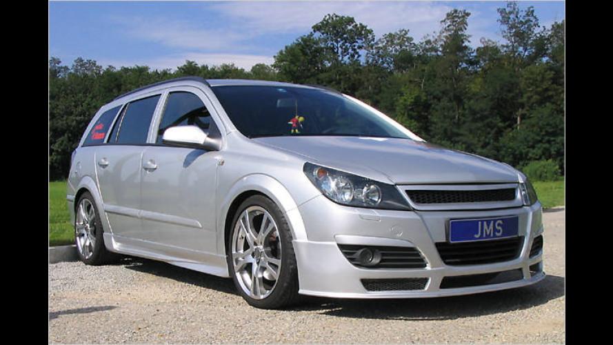 Veredler JMS: Racelook für den Astra H Caravan von Opel