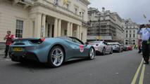 70 Ferraris in central London