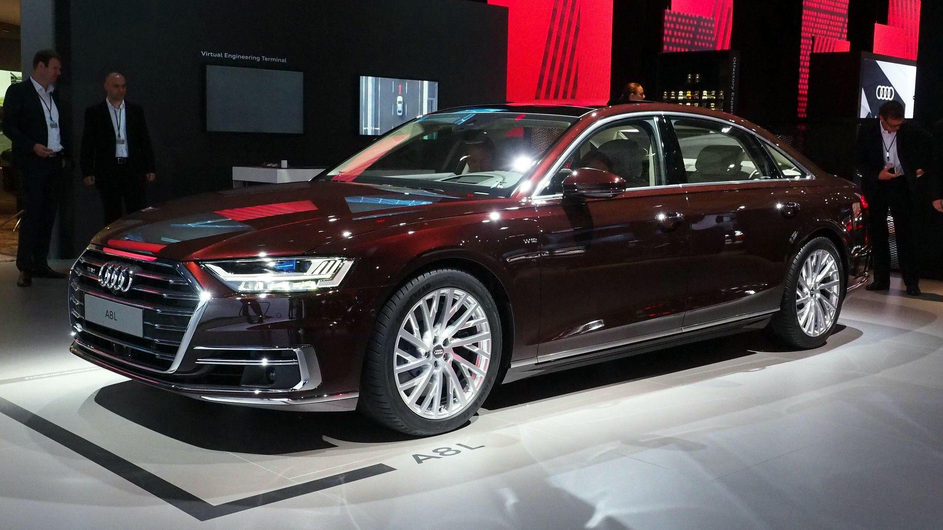 2018 Audi A8 Has Lasers, Foot Magers, And A Big Price Tag