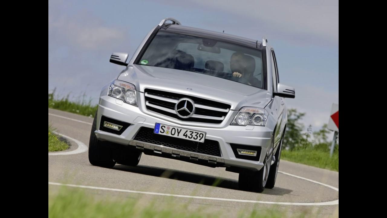 Recall: Mercedes convoca 3,5 mil unidades de Classe C e GLK no Brasil