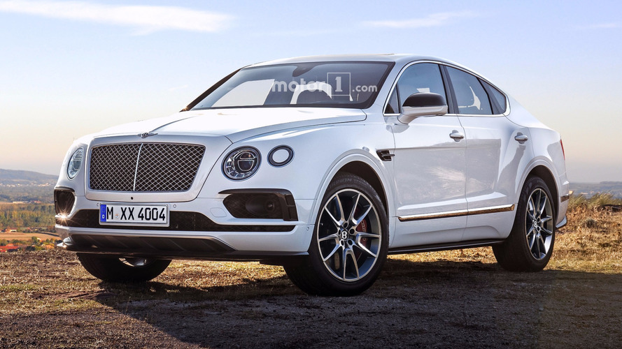 Bentley Bentayga Sport Coupe SUV coming in 2019?