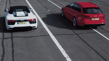 Audi RS6 vs R8 10