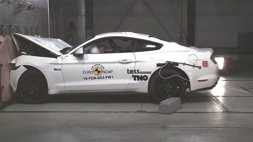 EuroNCAP - Crash-test catastrophique pour la Ford Mustang !