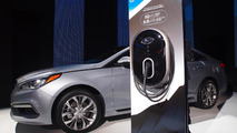 2016 Hyundai Sonata Plug-in Hybrid Electric Vehicle live at NAIAS