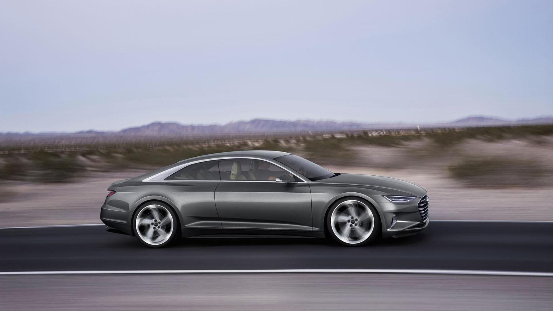 Фантастическая Audi Prologue Piloted Driving