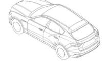Maserati Levante patent image