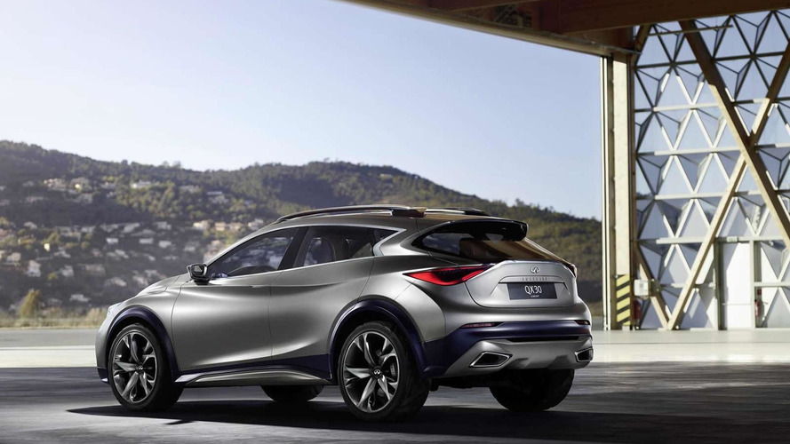 Infiniti QX30 first revealing official image published