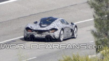 2014 McLaren P1 spy photo 06.11.2012 / Automedia