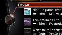 Stitcher SmartRadio app