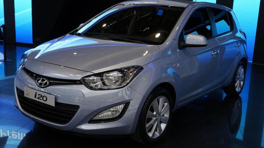 2013 Hyundai i20 bows in Geneva