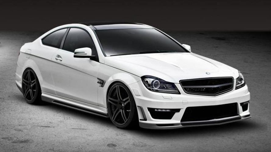 Mercedes Benz C63 AMG Coupe by Vorsteiner