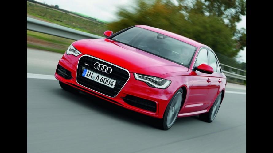 Audi lançará nova geração do A6 entre os dias 11 e 13 de outubro no Brasil
