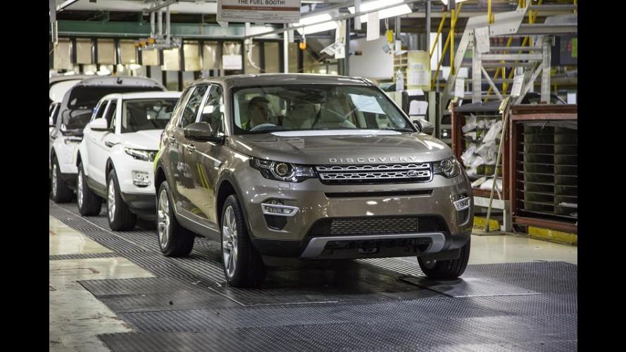 Cotado para ser nacional, Discovery Sport começa a ser produzido