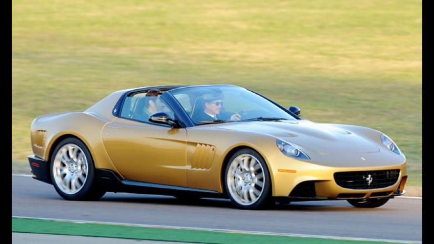 Ferrari mostra modelo exclusivo P540 SuperFast Aperta feito para colecionador milionário