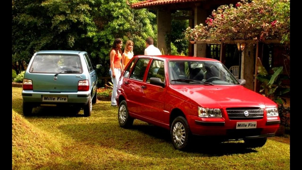 """Carros para sempre: Uno Mille, a história do precursor dos """"populares"""""""