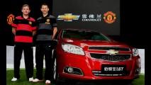 Chevrolet patrocina o inglês Manchester United de olho na China