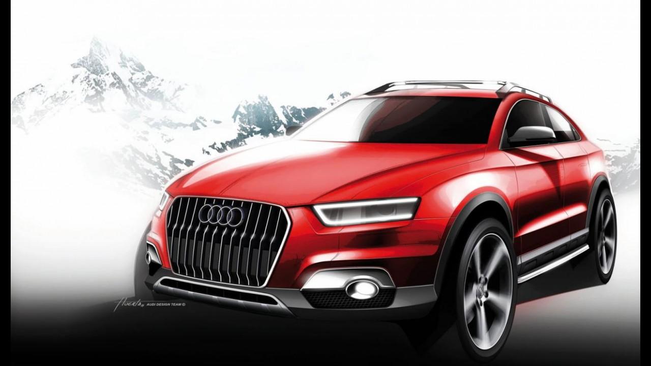 Audi Q2 chega ao mercado em 2013 e pode ser apresentado no Salão de Paris