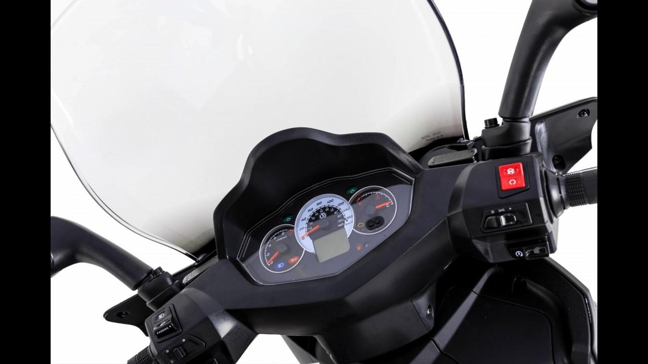 Dafra Citycom 300i 2016 traz novos faróis e lanternas por R$ 16.990