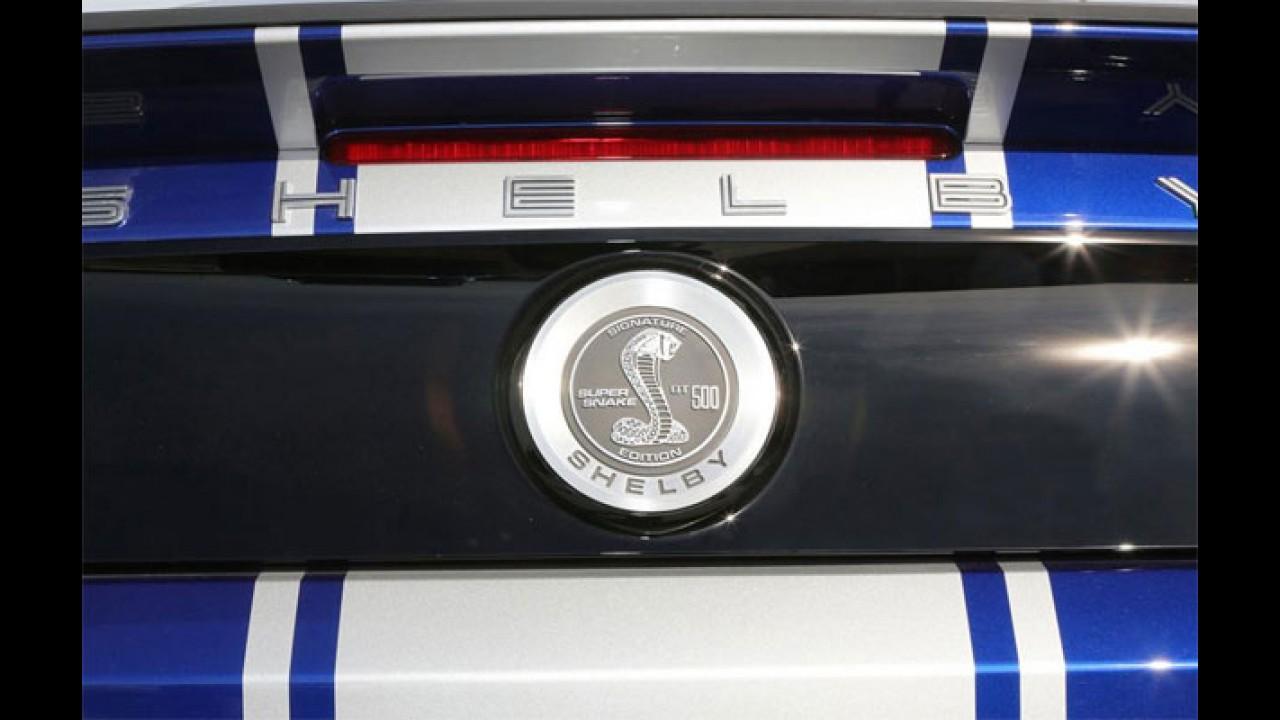 Insano: Mustang GT500 Super Snake é revelado com 840 cv!