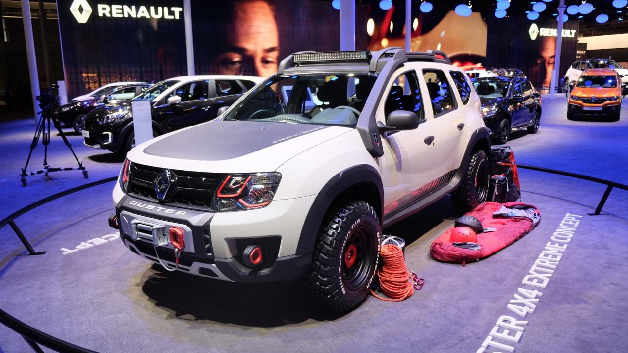 Salao Do Automovel Renault Apresenta Conceitos Sandero Rs Grand Prix E Duster Extreme
