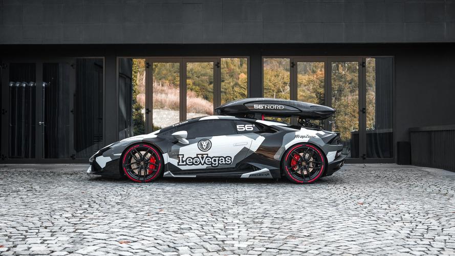 VIDÉO - Découvrez la nouvelle Lamborghini (d'hiver) de Jon Olsson !