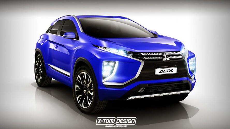 Mitsubishi ASX: projeção antecipa visual da nova geração
