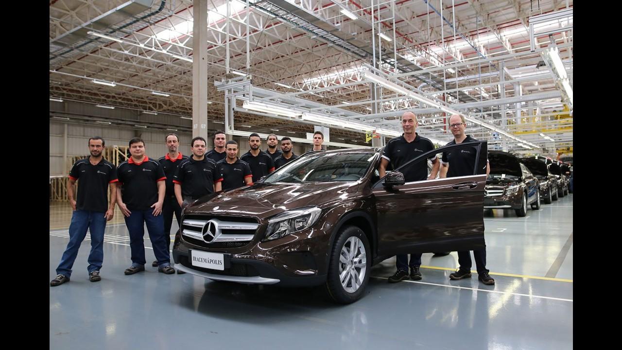 Mais vendido da marca no Brasil, Mercedes GLA começa a ser produzido em Iracemápolis (SP)