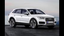Nuova Audi Q5, il rendering