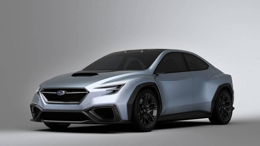 2017 Subaru Viziv Performance koncepció