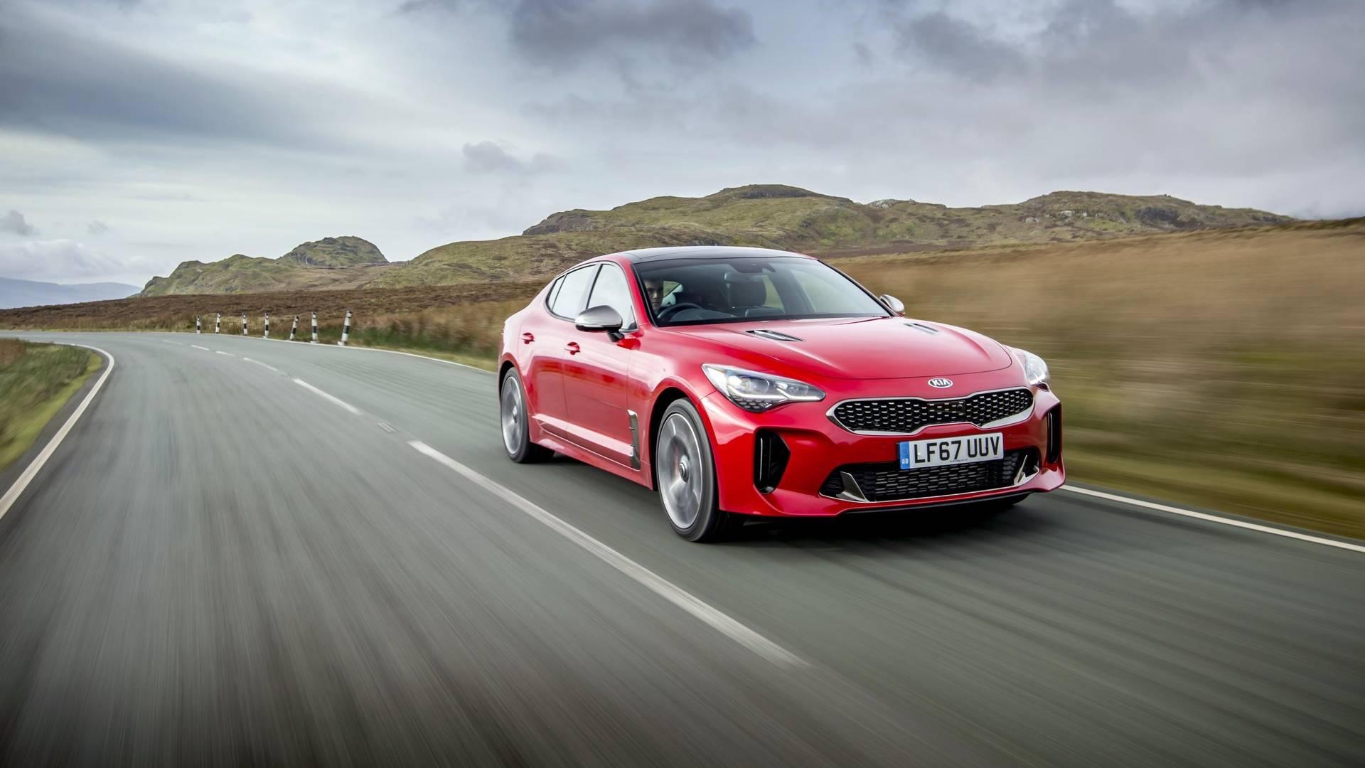 cars car stinger stinge rendering speed kia top coupe sports