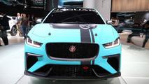 Jaguar I-Pace eTrophy live in Frankfurt