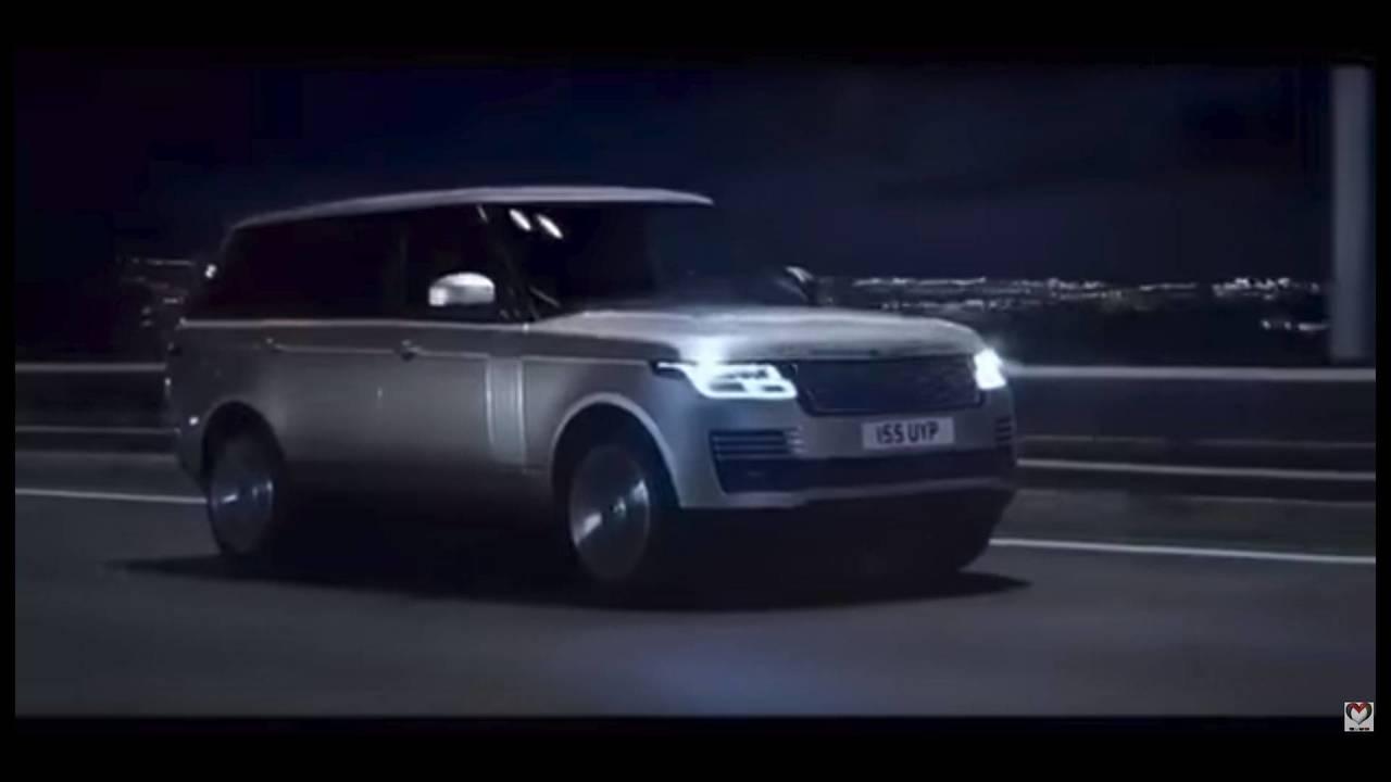 Range Rover 2018 restyling, imágenes filtradas