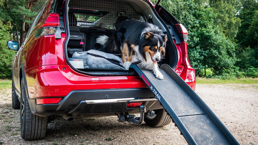 Nissan X-Trail Adds \'Paw Pack\' In U.K. For Canine Adventures