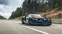 Bugatti Chiron récord 0-400 km/h