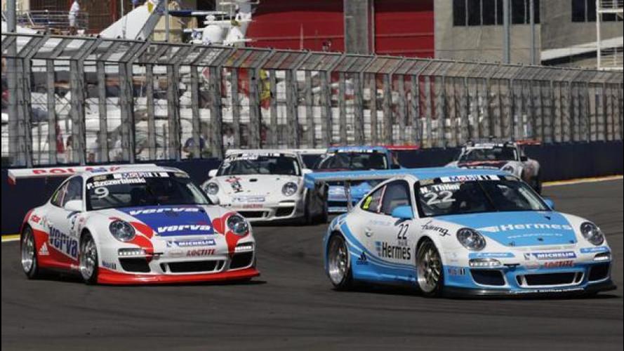 Porsche promuove i giovani talenti della Carrera Cup