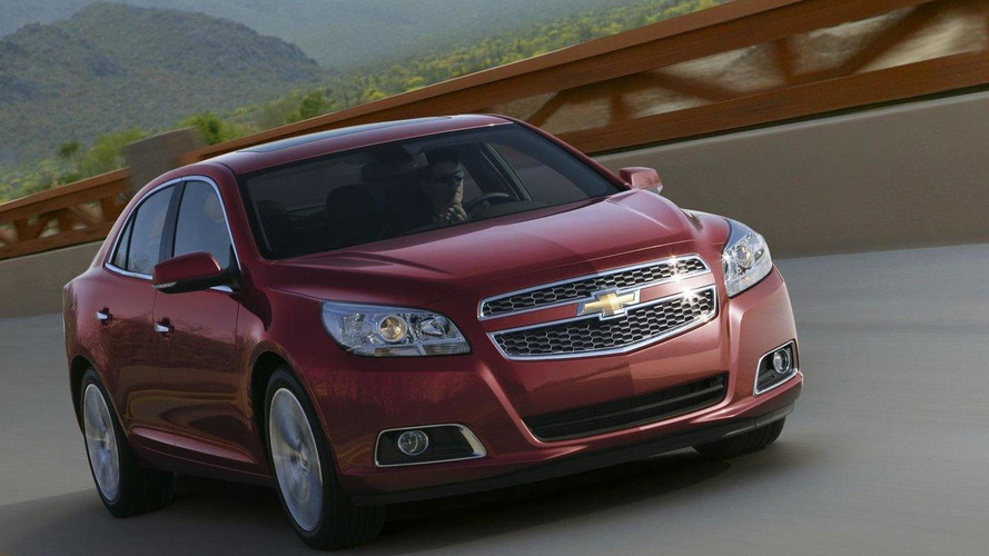 2013 Chevrolet Malibu Turbo announced