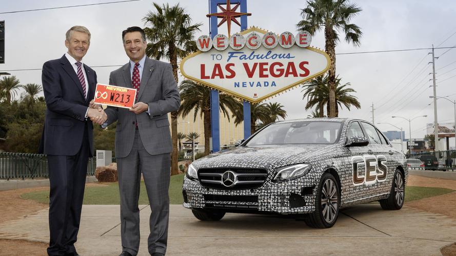 Mercedes E Class receives autonomous driving test license in Nevada