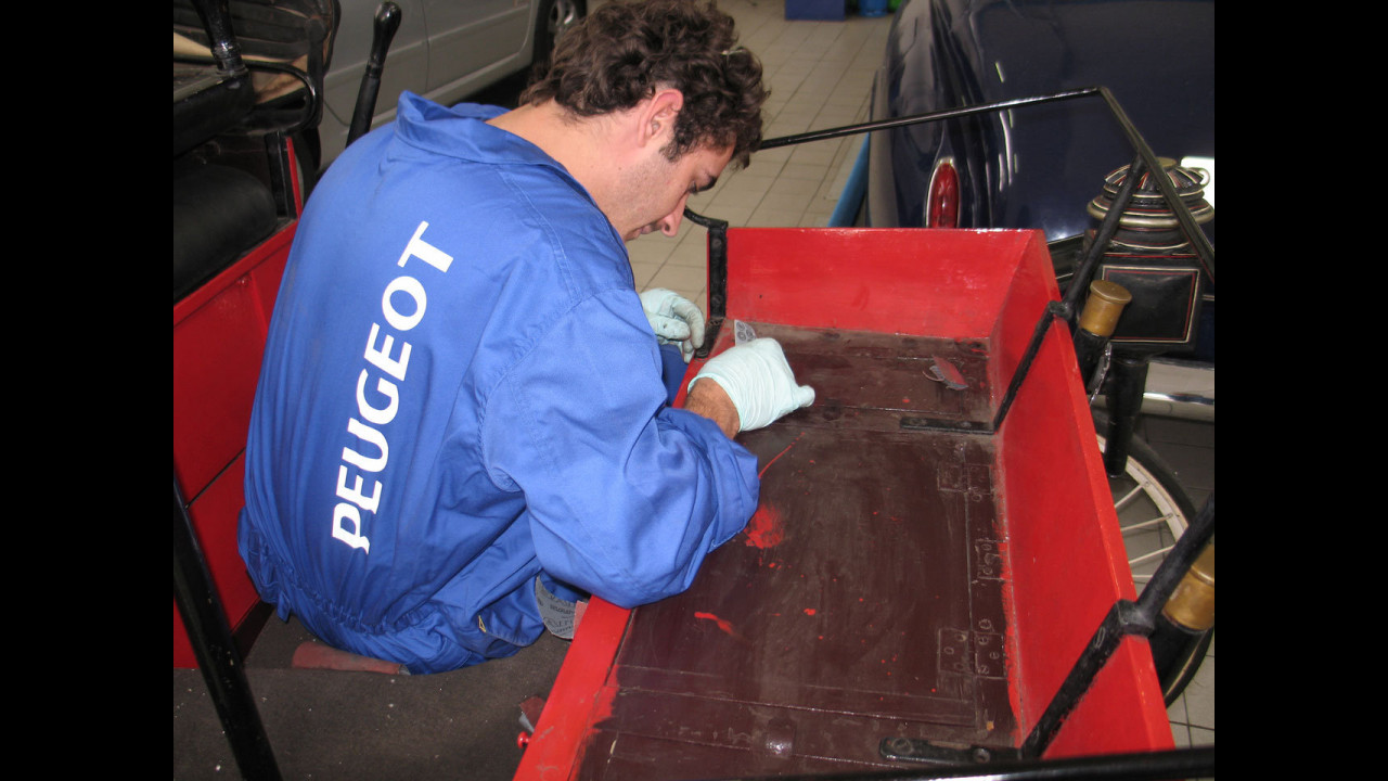 Restauro Peugeot Tipo 3